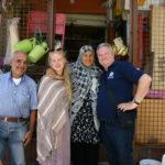 Afscheid van Madame Zohra en Jimmy Salami.