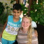 Een van de 750 kinderen van de Familie van Johan en Peter in Rishkenanay.