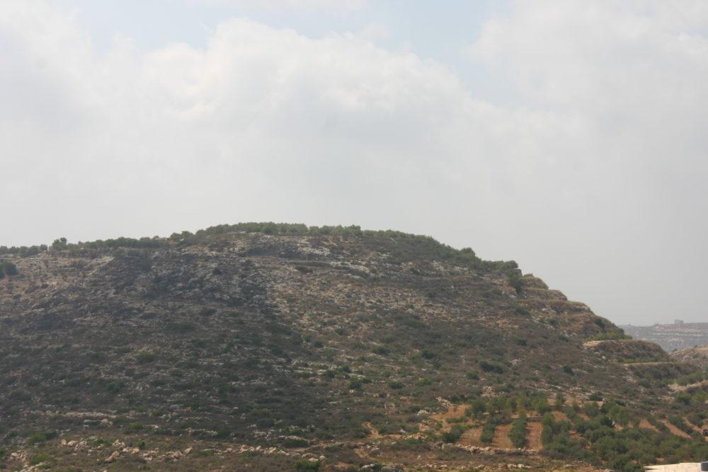 Jebal Al Kebir, oord waar vandaan Palestijnen trachten te infiltreren
